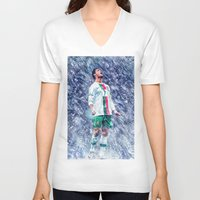 ronaldo V-neck T-shirts featuring Cr7 Ronaldo by Cr7izbest