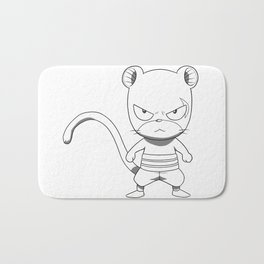 Pantherlily Bath Mat