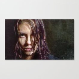 Maggie Rhee - The Walking Dead Canvas Print