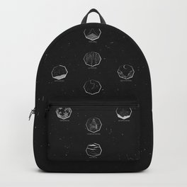 The Nine Realms - Nordic World Map Backpack