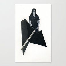 this modern world Canvas Print