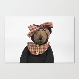 Old Fashioned Bear Canvas Print
