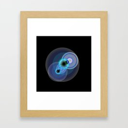 goggle eyes Framed Art Print