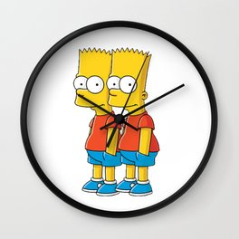 pants pocket simpson Wall Clock