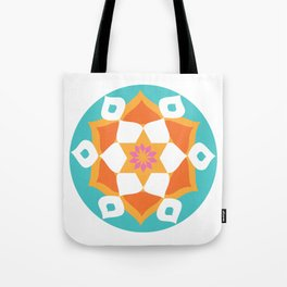 Rangoli of Love Tote Bag