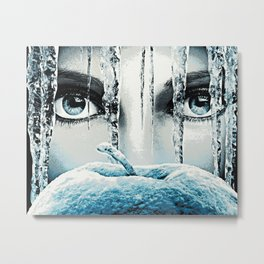 Once Upon A Time - Frozen Heart Metal Print