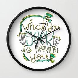 Seeking Wall Clock