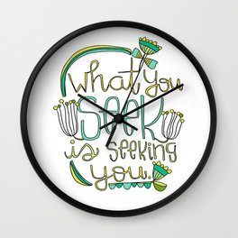 Seeking Wall Clock