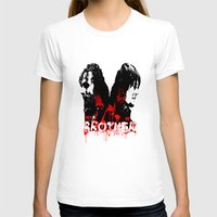 rick grimes T-shirts featuring Daryl Dixon and Rick Grimes by artandawesome