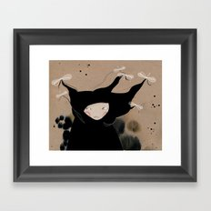 Mister Wind Framed Art Print