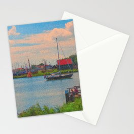 Monet style no.2 Stationery Cards