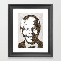 Mandela Framed Art Print