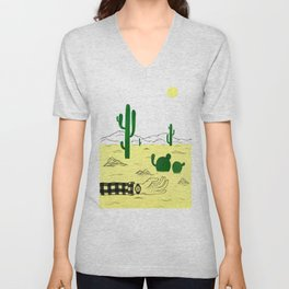 Man & Nature - The Desert Unisex V-Neck