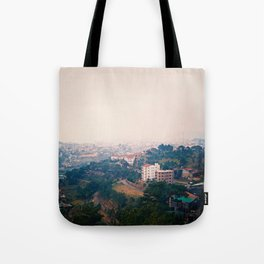 DALAT IN THE FOG Tote Bag