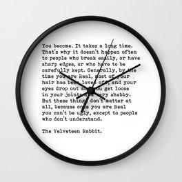 The Velveteen Rabbit, Wall Clock