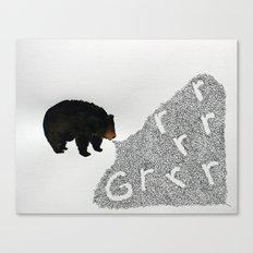 Grrrrrr... Canvas Print