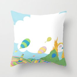 oh the places you'll go .. dr seuss Throw Pillow