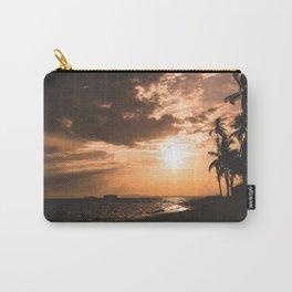 Sunset beach. San Blas, Panama Carry-All Pouch