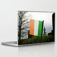 irish Laptop & iPad Skins featuring Irish graveside by Vorona Photography