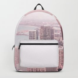 CHICAGO CITY PASTEL PINK Backpack