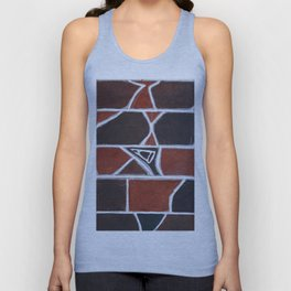 Stone wall colour 1 Unisex Tank Top