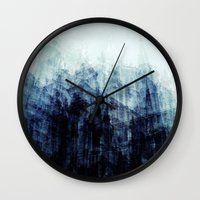 brussels Wall Clocks featuring Brussels by Mina & Jon