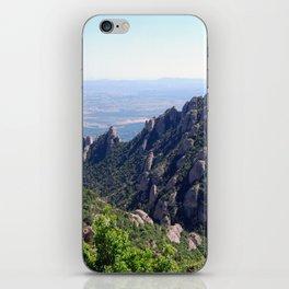 Landscape of Montserrat mountain in Catalonia, Spain iPhone Skin