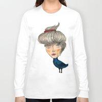 siren Long Sleeve T-shirts featuring Siren by KokoOn