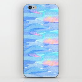 Watercolor delight iPhone Skin