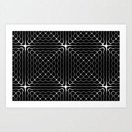 Energy Vibration 1.  Frequency - Chladni - Cymatics Art Print