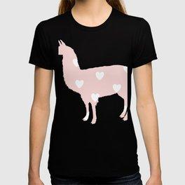 Llama hearts T-shirt