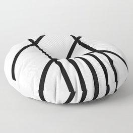 Bold Deco Floor Pillow