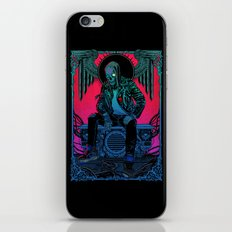 The Ghost of Dead Motor City iPhone Skin