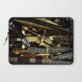 Collage - Daggers, Dirks and Sabres Laptop Sleeve