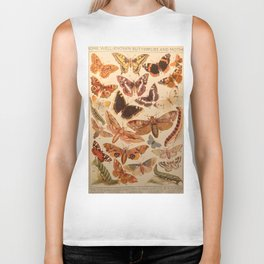 Vintage insects 1 Biker Tank