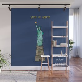 State of Liberty Wall Mural