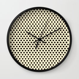 Dots Repeat Dominoes Print Wall Clock