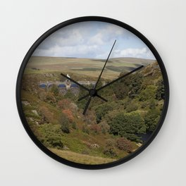 Craig Goch Dam III Wall Clock