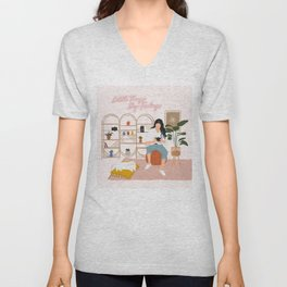 Dream Workspace Unisex V-Neck