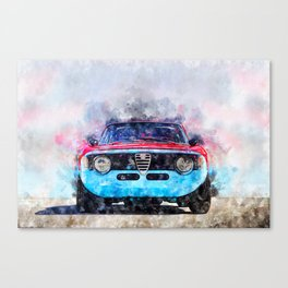 Alfa Giulia Sprint GTA Canvas Print