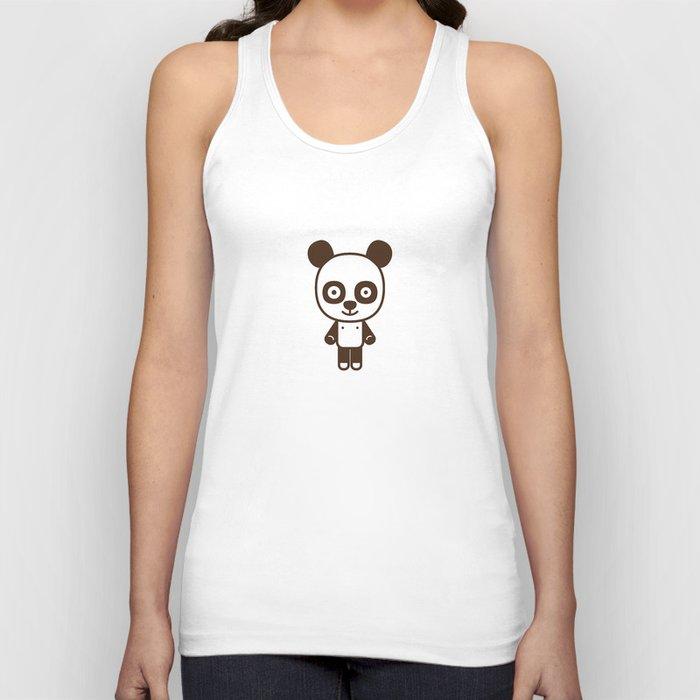 #50 Panda Unisex Tank Top