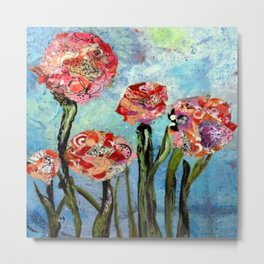 Rose Water Sky Metal Print