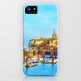 Dieppe Harbour iPhone Case
