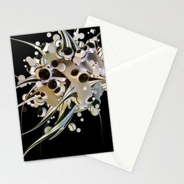 Artificial life forms Stationery Cards