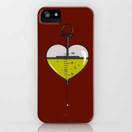 Love is poison iPhone Case