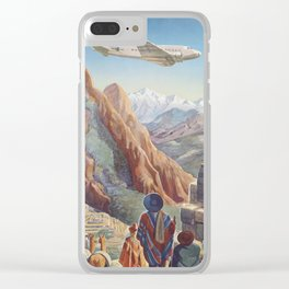 South America 4 Clear iPhone Case