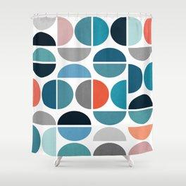 impressive colors Shower Curtain