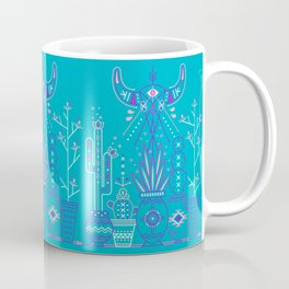 Santa Fe Garden – Blue & Purple Coffee Mug