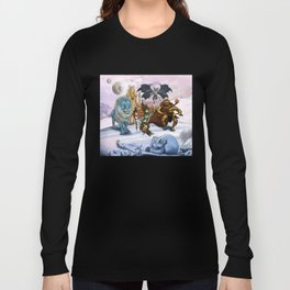 Glaar and The Floating Kingdom Long Sleeve T-shirt