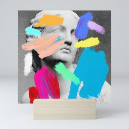 Composition 721 Mini Art Print